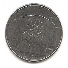 San Marino 100 Lire 1976 KM-57 UNC !!!, Europa