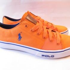 TENESI POLO - PORTOCALII -MAS. 44 ! - Tenisi barbati, Culoare: Orange