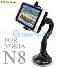 Suport auto Nokia N8 + folie protectie ecran