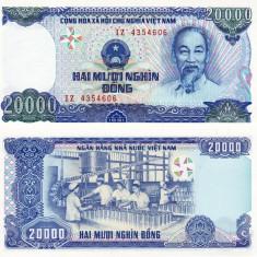 VIETNAM 20.000 dong 1991 UNC!!!