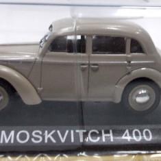 DE AGOSTINI-MOSKVITCH 400 -SCARA 1/43-SIGILATA-++2501 LICITATII !! - Macheta auto