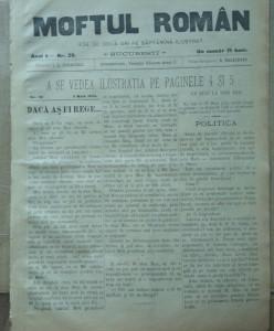 Moftul roman ; Director I. L. Caragiale , nr. 29 din 1893