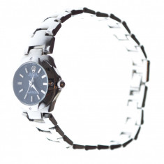 Ceas dama model stil Rolex curea metalica cutie cadou, Elegant, Analog