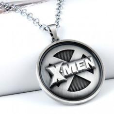 Pandantiv / Colier / Lantisor - X-MAN XMAN X MAN WOLVERINE - Rotund Din Aliaj - Lantisor fashion