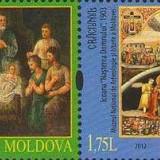 MOLDOVA 2012, Craciun, serie neuzată, MNH