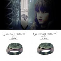 Inel Film GAME OF THRONES - Cap de  Lup - House Of Stark DIREWOLF  : MArimi 8-11