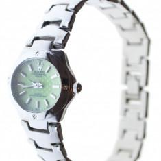 Ceas dama model Rolex curea metalica cutie cadou, Elegant, Analog