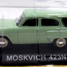 DE AGOSTINI-MOSKVITCH 423 N -SCARA 1/43-SIGILATA-++2501 LICITATII !! - Macheta auto