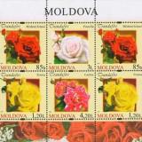 MOLDOVA 2012, Flora, serie neuzată, MNH