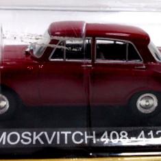 DE AGOSTINI-MOSKVITCH 408-12 -SCARA 1/43-SIGILATA-++2501 LICITATII !! - Macheta auto