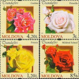 MOLDOVA 2012, Flora, serie neuzată, MNH, Nestampilat