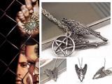Pandantiv / Colier / Lantisor - FILM SUPERNATURAL - Pentagrama Winchester Amulet