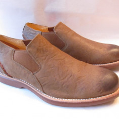 PANTOFI PIELE SPERRY - MAS 44 ! - Pantofi barbat Sperry, Culoare: Maro, Piele naturala