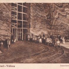 CARTE POSTALA Ocnele Mari - Valcea    Interiorul salinelor                  Circulata 1933
