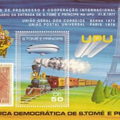 S.TOME E PRINCIPE UPU  1978       30 E
