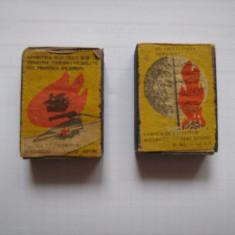 Lot 2 cutii chibrituri anii 70 - Tabachera veche