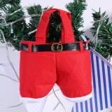 Cumpara ieftin Pantalonasi Mos Craciun - decoratiune de sarbatoare - cadou inedit!