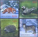 MOLDOVA 2011, Fauna, serie neuzată, MNH