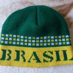 Caciula Brasil, fabricata in Brazilia; marime universala; acrilic; impecabila - Fes Barbati, Culoare: Din imagine