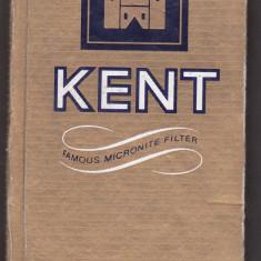 Carnetel in forma de pachet de tigari KENT