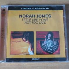 Norah Jones - Not Too Late / Feels Like Home - Muzica Jazz emi records, CD