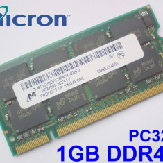 1GB PC3200 DDR400 400MHz , Memorie ram Laptop , Testata cu Memtest86+