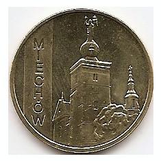 Polonia 2 Zloti 2010 (comemorativa: Miechow ) KM-760 UNC !!!, Europa
