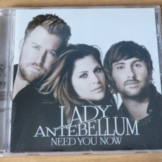 Lady Antebellum - Need You Now CD - Muzica Country capitol records