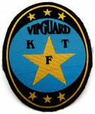 ROMANIA SAU UNGARIA ECUSON TEXTIL VIPGUARD KFT dimensiune 105 x 85 mm **