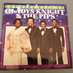 GLADYS KNIGHT & THE PIPS -BEST OF(1985/BR REC/HOLLAND) - SOUL- VINIL/NOU/SIGILAT - Muzica Rock arista