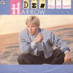 Den Harrow - Tell me why (1987, Baby Rec.) Disc vinil single 7