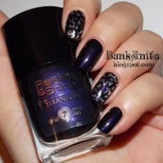 Oja MOV SIDEFAT L'OREAL Resist & Shine Titanium 732 Black Violet - Lac de unghii L'oreal Paris