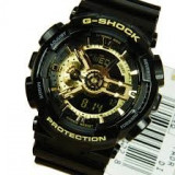 CASIO G-SHOCK GA-110 BLACK&GOLD, CUTIE METALICA INCLUSA !!! MODEL NOU BACKLIGHT