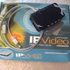 Video WEB IP Server Aviosys IP9100, 4 canale video
