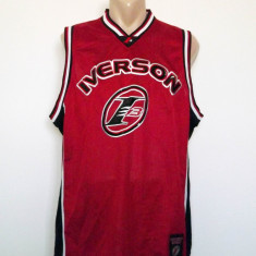 Maiou basket Reebok Iverson Limited Edition authentic apparel, Culoare: Rosu, Marime: S/M, S/M, Basketball