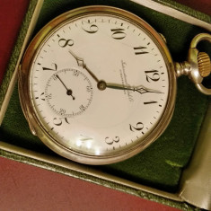 Ceas IWC SCHAFHAUSEN - Ceas barbatesc Iwc, Mecanic-Manual, Argint, Analog, Inainte de 1940