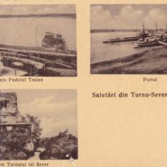 CARTE POSTALA TURNU SEVERIN - Salutari din Turnu-Severin            Necirculata
