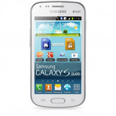 Samsung Galaxy S Duos S7562 - Telefon mobil Samsung Galaxy S Duos, Alb, Neblocat