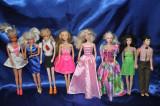 8 Superbe Papusi Barbie de Colectie (Papusa Barbie vechi)