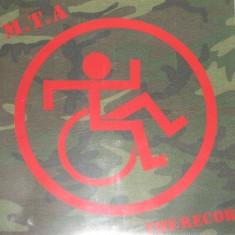 M.T.A. The Record album disc vinyl lp muzica rock thrash metal 1989 vest germany, VINIL