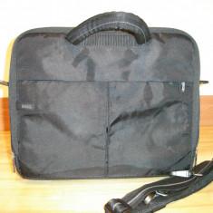 Geanta laptop DELL, Diplomat, 16 inch, Nailon, Negru