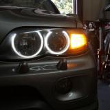 Angel Eyes compatibil BMW X5 E53 CCFL, X5 (E53) - [2000 - ]