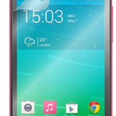 Folie Alcatel One Touch Pop S3 OT-5050 Transparenta - Folie de protectie Alcatel, Lucioasa