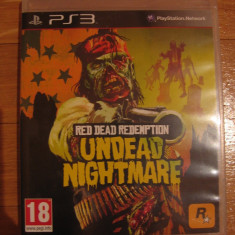 JOC PS3 RED DEAD REDEMPTION UNDEAD NIGHTMARE ORIGINAL / STOC REAL in Bucuresti / by DARK WADDER - Jocuri PS3 Rockstar Games, Actiune, 18+, Single player