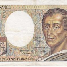 FRANTA 200 francs 1986 VF-/VF!!!