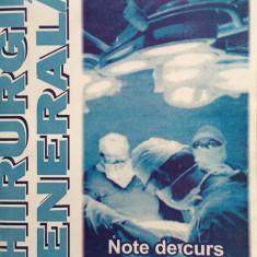 CHIRURGIE GENERALA NOTE DE CURS PENTRU STUDENTII FACULTATII DE STOMATOLOGIE - Octavian-Dumitru Unc, Razvan Popescu