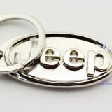 Breloc nou emblema JEEP si cutie cadou - Breloc Auto