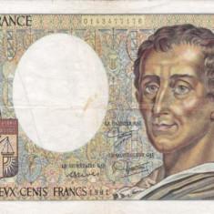 FRANTA 200 francs 1981 VF!!!