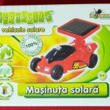 NOUA, DE FIRMA → Masinuta de asamblat, propulsie solara NORIEL → baieti | 5+ ani, 4-6 ani, Electrice, Plastic, Baiat