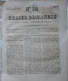 Curier romanesc , gazeta politica , comerciala si literara , nr. 33 din 1839 , prima gazeta romaneasca